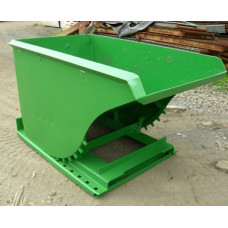 1 yd NEW self-dumping hopper