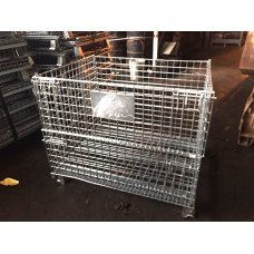 """32 x 40 x 28"""" Collapsible Wire Basket, 2000# cap"""
