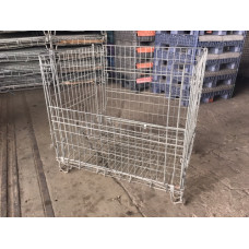 "38"" x 48"" x 40"" Collapsible Wire Basket"