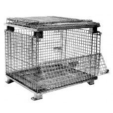 "40"" x 48"" x 30"" Collapsible Wire Basket"