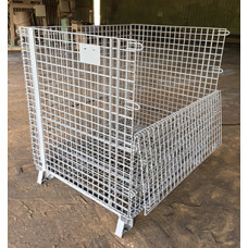 """40"""" x 48"""" x 42"""" Collapsible Wire Basket"""