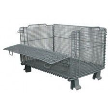 "20"" x 32"" x 16"" Collapsible Wire Basket  .5 x .5 mesh"