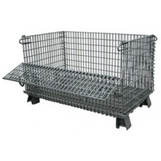 """20"""" x 32"""" x 16"""" Collapsible Wire Basket  1.5 x 1.5 mesh"""