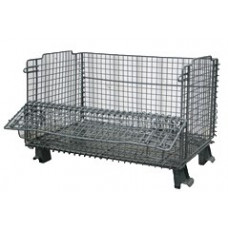 "20"" x 32"" x 16"" Collapsible Wire Basket 1 x 1 mesh"