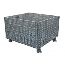 "40 x 46 x 24"" Collapsible Wire Basket"