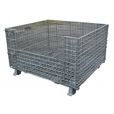 "40 x 48 x 24"" Collapsible Wire Basket"