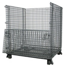 "40"" x 48"" x 48"" Collapsible Wire Basket"