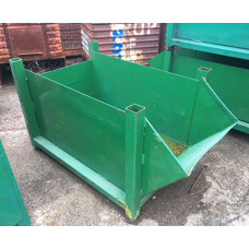 "24"" x 52"" x 18"" Taper Nose Steel Container"
