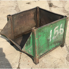 "30"" x 38"" x 20"" Taper Nose Steel Container"