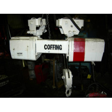 Coffing 1 1/2 Ton Electric Hoist